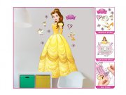 Samolepicí dekorace Walltastic Princezna Bella 44357 Dekorace Princezny