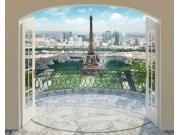 Fototapeta 3D Walltastic Paříž 43589, 305 x 244 cm Fototapety papírové