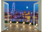Fototapeta 3D Walltastic Londýn 43596, 305 x 244 cm Fototapety papírové
