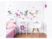 Samolepicí dekorace Walltastic Jednorožci 45989 Dekorace ostatní