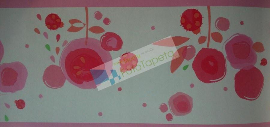 Dětské vliesové bordury 9930119, rozměry 17,6 x 500 cm - Tapety Abracadabra