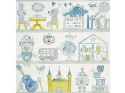 Dětské papírové tapety 72820239, rozměry 0,53 x 10,05 m Tapety Summer Camp