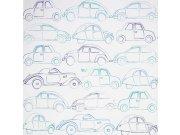 Dětské papírové tapety 72830141, rozměry 0,53 x 10,05 m Tapety Summer Camp