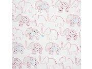 Dětské papírové tapety 72870161, rozměry 0,53 x 10,05 m Tapety Summer Camp
