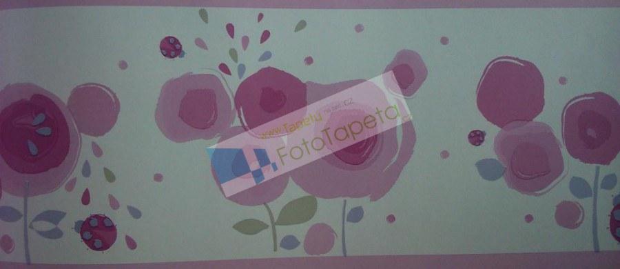 Dětské vliesové bordury 9930228, rozměry 17,6 x 500 cm - Tapety Abracadabra