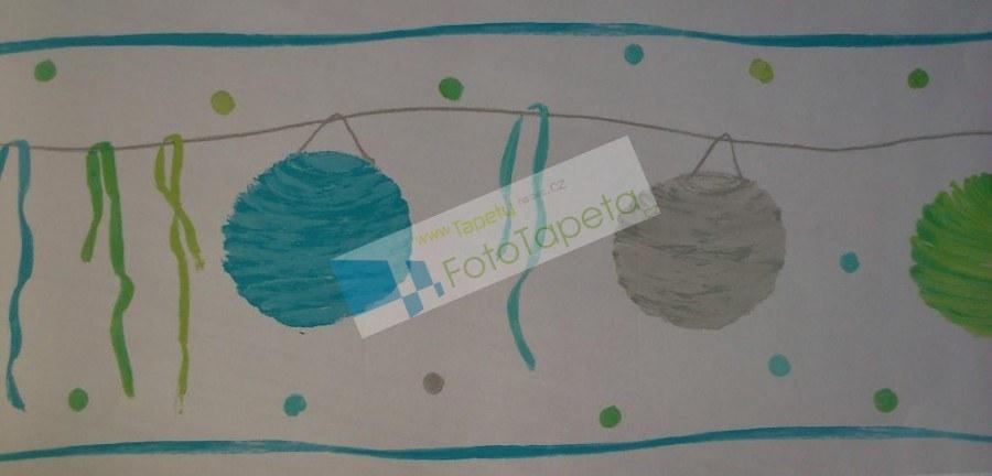 Dětské vliesové bordury 9800122, rozměry 17,6 x 500 cm | Dětské tapety na zeď Tapety Abracadabra