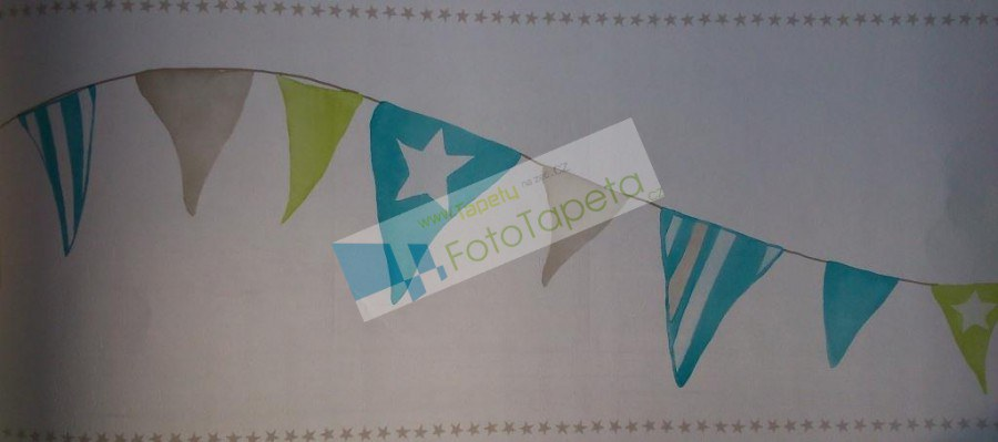Dětské vliesové bordury 9890335, rozměry 17,6 x 500 cm - Tapety Abracadabra