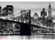 Fototapeta Brooklyn bridge black FTS-0199, rozměry 360 x 254 cm Fototapety skladem