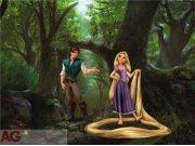 Fototapeta Rapunzel FTDXXL-0244, rozměry 360 x 270 cm Fototapety skladem