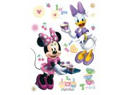 Maxi nálepka Minnie a kamarádka AG Design DK-0856, rozměry 85 x 65 cm Dekorace Mickey Mouse