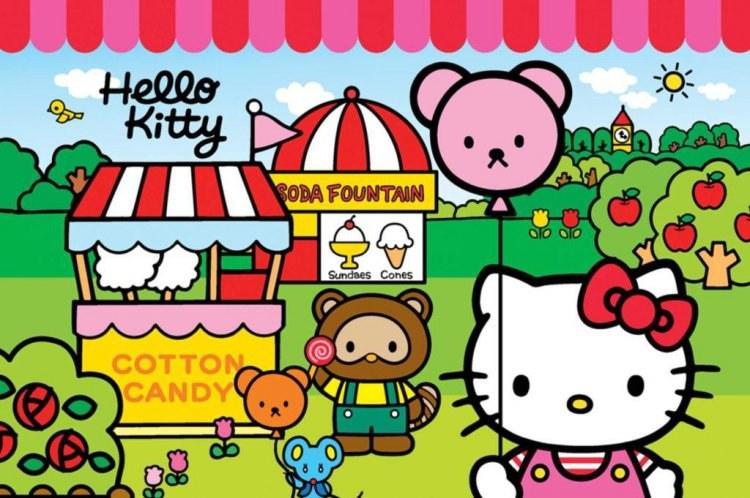 Prostírání Hello Kitty LP2021, rozměry 42 x 30 cm - Dekorace Hello Kitty