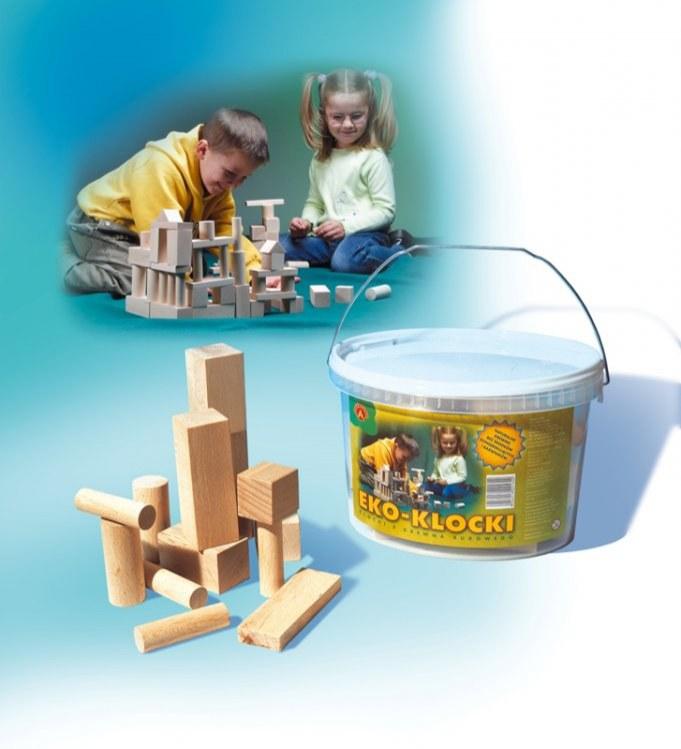 Dřevěné kostky - Akce