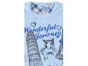 Dětské pyžamo dlouhé Dívka na cestách 3