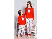 Dětské pyžamo dlouhé Tučňák velký 3