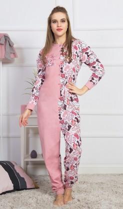 Dámský overal Kočky - Dámská pyžama s dlouhým rukávem