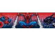 Samolepicí bordura Spiderman D42369, rozměry 15,9 x 500 cm Dekorace Spiderman