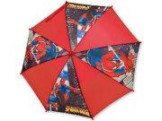 Deštník Spiderman manual 76 cm modrý Deštníky pro děti