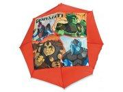 Deštník dětský Gormiti červený Deštníky pro děti