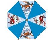 Dětský deštník Planes modrý, velikost 75 cm Deštníky pro děti
