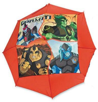 Deštník dětský Gormiti červený - Deštníky pro děti