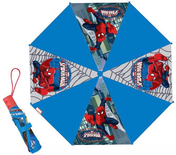 Dětský skládací deštník Spiderman - Deštníky pro děti