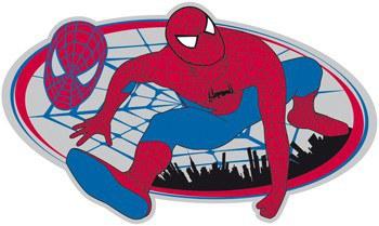 Velká pěnová figurka Spiderman D23568, rozměry 53 x 28 cm - Dekorace Spiderman