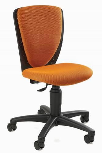 Dětská stavitelná židle ORANŽOVÁ - Dětské stavitelné židle