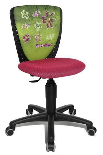 Dětská židle Scool Květiny - Dětské stavitelné židle