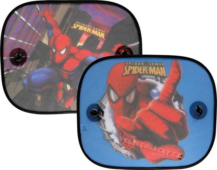 Stínítko na přísavky Spiderman - Roletky stínítka do auta